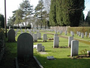 War graves Beachley